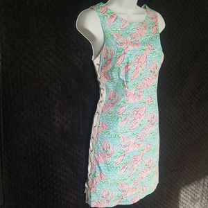 Lilly Pulitzer Lobstah Roll Dress 8 Holy Grail